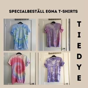 Välj mönster, färger & storlek själv! Finns i S, M, L och  XL. 100kr per t-shirt + frakt. Frakt för en går på 48kr. Frakt för 2-3 går på 57kr. Kan tillägga att dessa t-shirts är i 100% bomull och är av väldigt bra kvalité!