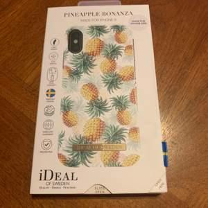 Skal från Ideal of Sweden som passar till iPhone X/XS. Bra skick, är lite repigt. Står inte för postens slarv!