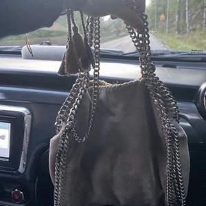 Säljer nu min favoritväska. Denna väska är otroligt praktiskt och får plats med mycket. Säljer den för jag vill köpa en ny. Skriv privat vid fler bilder eller funderingar❤️