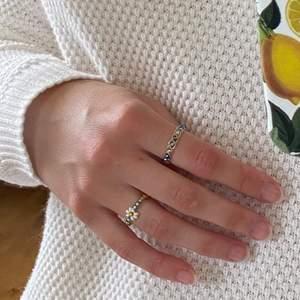 2-pack handgjorda ringar 🌺