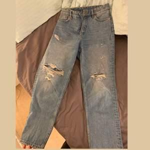 Jeans från Monki i väldigt bra skick säljer pga förstora för mig😌
