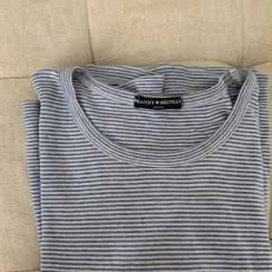 blue white shirt from brandy melville
