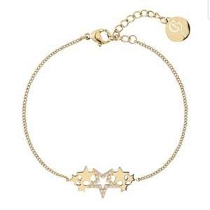 Smyckesset med halsband + armband från Edblad. Säljes p.g.a. att det inte kommer till användning längre. Som i nyskick. Original förpackning medföljer. Inköpspris tillsammans 648 kr.