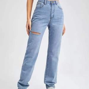 Helt nya byxor som va lite för stora för mig jag köpte på shien, (skickar gärna fler bilder)🤍