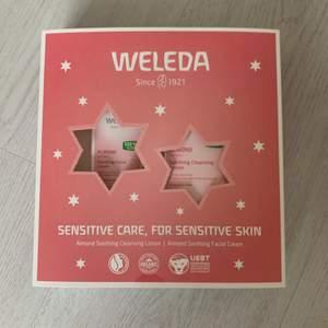 Ansiktskräm och en tvätt från Welda, helt oöppnad orörd. Kommer ej användas, därför sälj💓