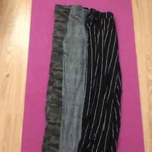 3Par leggings/Byxor dom är från olika märken Och olika Storlekar Skriv om du har intresse av någon av dom 40 Styk alla för 100 Frakt till Kommer skriv om ni vill frakta