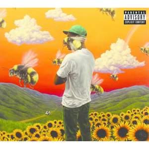 INTRESSEKOLL! Jag har Tyler the creator's flower boy album som vinylskivor som bara ligger i min byrålåda utan användning. Bild 3 ser ni vad som ingår, jag har inte kvar affischen men allt annat är kvar. Skulle kunna sälja för bra pris. Aldrig använd bara öppnad!