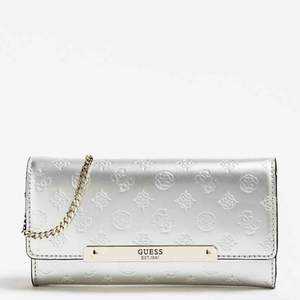 Brand New Guess Clutch (gold). With tags and dust bag
