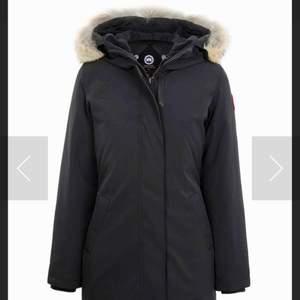 Helt ny canada goose i modellen victoria parka, svart färg, storlek xxs, pris kan diskuteras vid snabb affär