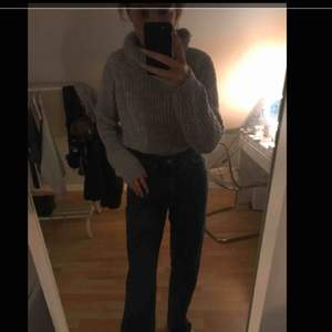 Skit mysig stickad tröja från Lindex