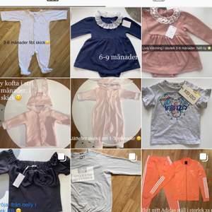 """🔊 Lägger upp massa på min bloppis instagram """"ViggoMimmibloppis"""" säljer allt möjligt men mest kläder för både vuxna och baby/barn och i både tjej & killkläder, in och följ-följer tbx 💞"""