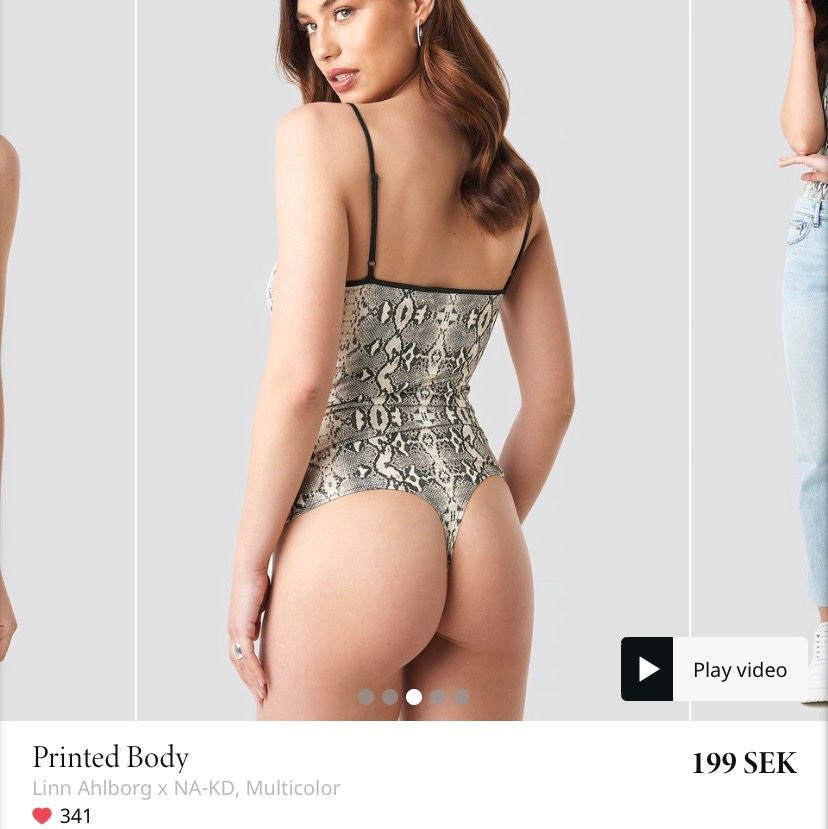 Säljer denna stringbody fast i leopard mönster. Bodyn är från Linn ahlborgs kollektion och är slutsåld på nakd. Säljer då den inte passade mig. Frakt 11kr. Toppar.