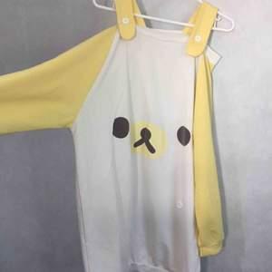 Oversize tröja med Rilakkuma Korilakkuma från Japan, harajuku