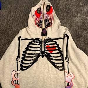 🌐Rare Sadboys Hoodie🌐, Yung lean skeleton Zip-up hoodie.