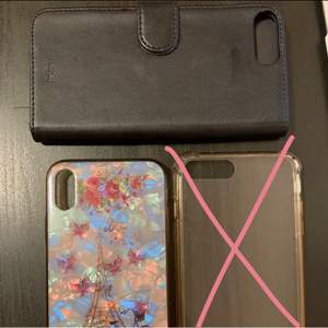 Säljer mina 2 iPhone skal (1st till iPhone 7 plus och 1st till iPhone XR)! De är i gott skick💕 Skriv om ni vill ha fler bilder! 35 kr styck!💓
