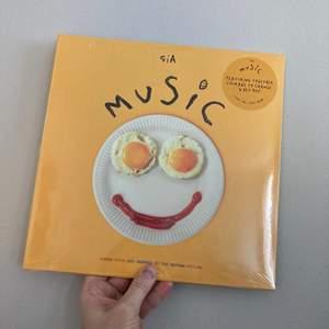 SIA - MUSIC - VINYLSKIVA - NY & INPLASTAD