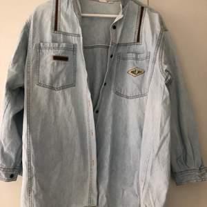 Vintage jeansskjorta
