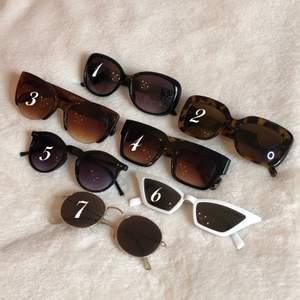 Sunglasses, 6€ each pair