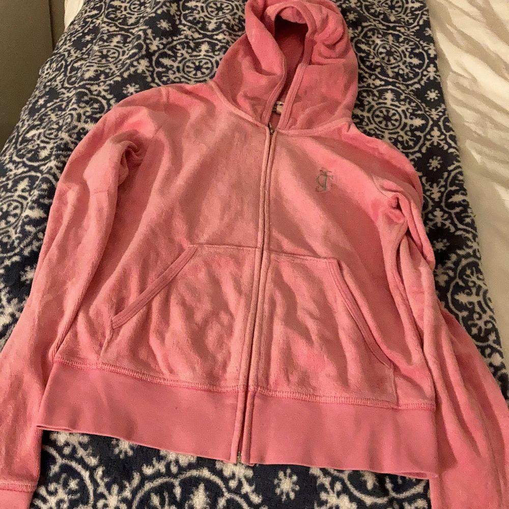 Huvtröja från juicy couture, rosa. Huvtröjor & Träningströjor.
