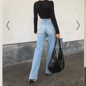🤍Ljusblåa jeans från Nakd, säljer pga av att de inte kommer till användning. 150kr + frakt ( kan diskutera priset )🤎