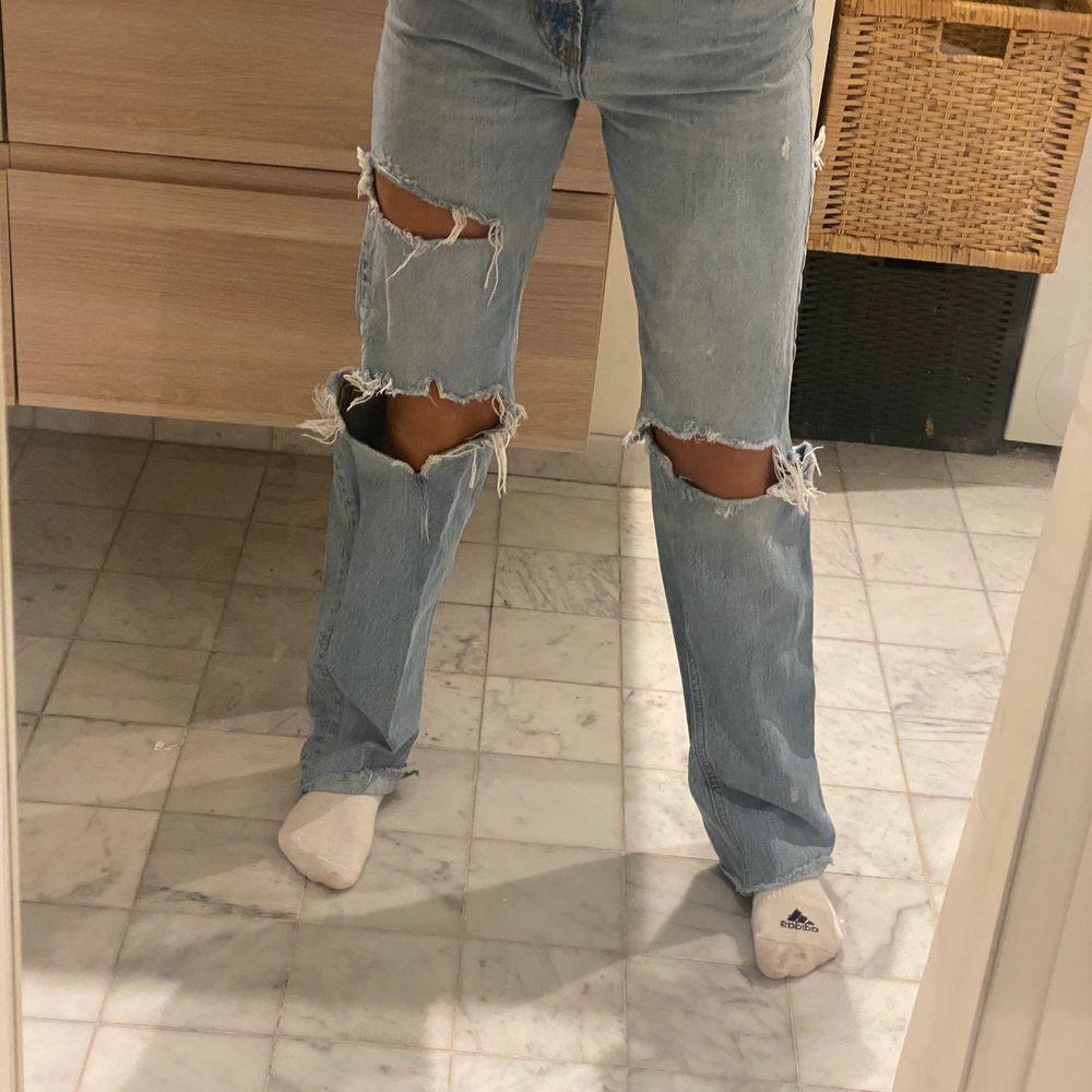 Aldrig använda. Storlek 34. Jeans & Byxor.