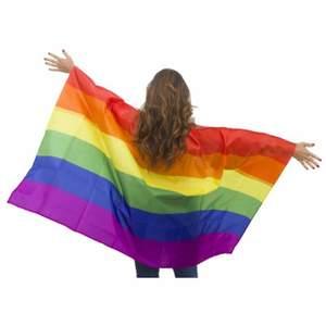 Riktigt stor pride flagga 90kr+ frakt 24kr hör av dig om intresset finns 😊🏳️🌈🏳️🌈 pride faggan kostade 130kr i nypris, skickar med extra saker oxå om du vill köpa ✨ pride flaggan är 150x90 kan bjuda 18 på frakten så slutpriset blir 114kr för båda flagga och frakt 🏳️🌈