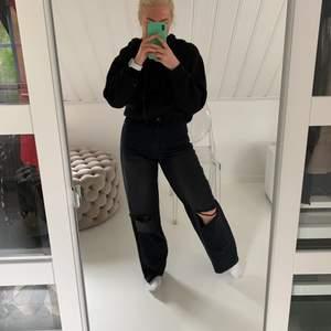 Vida bohoo jeans i svart/mörkgrå skit coola. Använda 1 gång i storlek 36!