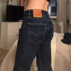 Säljer dessa baggy jeansen från Levis som jag köpte för några månader sen på Beyond Retro. Har endast använt de 3 gånger och de är i väldigt fint skick. Jag är ca 160 och brukar ha S i kläder. Om ni har några frågor eller vill ha fler bilder är det bara att skriva till mig❤️❤️