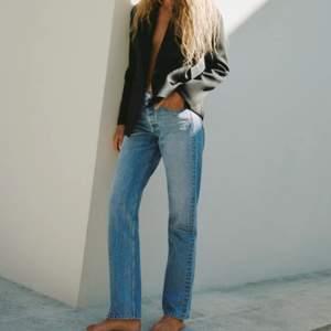 Jeans mid Rise straight full lenght. Storlek 40😚 budgivning om många är intresserade