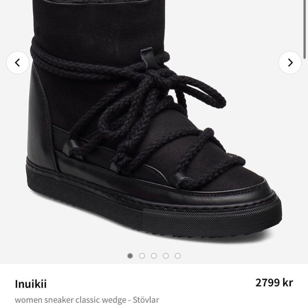Inuikii wedge skor. Använda ett fåtal gånger! Storlek 35-37! . Skor.