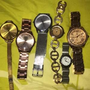 Alla klockor för 100kr