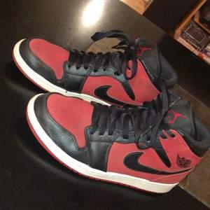 Fräscha air Jordan 1s storlek 42 passar även 41. Skriv för fler bilder (färgen oså) eller vid frågor!!
