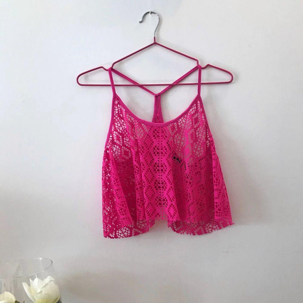 Otroligt fint rosa linne från Gina Tricot 🌺 . Toppar.