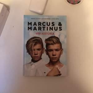 Säljer Marcus och Martinus bok pågrund av har läst den. Köptes för 299kr💕