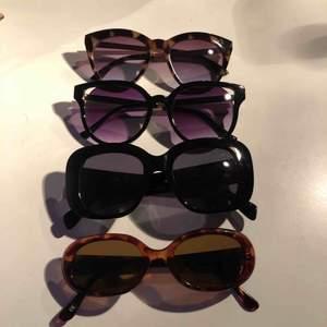 Solgalsögon från weekday hm m.m. Superfina och i bra skick😍 kontakta för fler bilder/mer info vid intresse