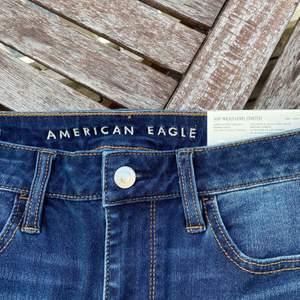 Korta strechig ma jeans, nypris 450:-