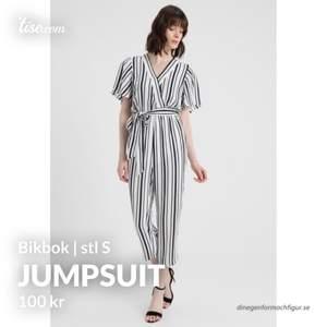Supersnygg randig jumpsuit från Bikbok. Sparsamt använd.