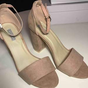 37 EU Block Heel Sandal Dusty Pink