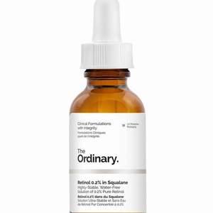 Den välförtjänta o hypade Ordinary retinol 0.2% flaskan som är helt SLUTSÅLD i Sverige o finns begränsat utomlands! (Bara att söka, går ej att hitta denna längre). Säljs då jag köpte 2 flaskor. Helt oanvända i sin förpackning!