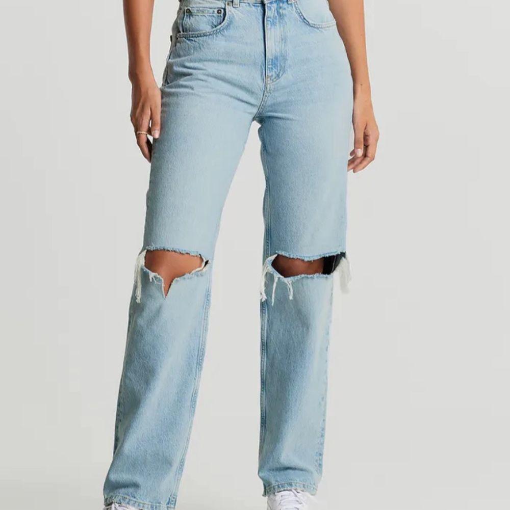 Jag säljer mina Gina jeans pga av att de är för stora. De är i modellen peitite. Hör av er om ni vill ha bättre bilder eller om ni har frågor. Frakt ingår i priset. Pris kan diskuteras!! Nypris 599kr. Jeans & Byxor.