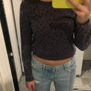 Leopard mönstrad tröja i storlek m💓