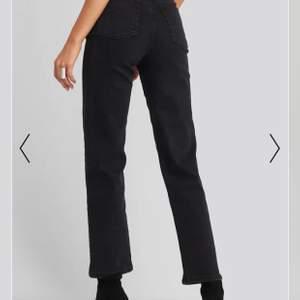 Svarta raka jeans från Nakd strl 36