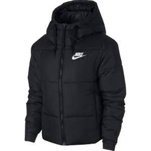 Varsamt använd vinter jacka från Nike som går att vända ur och in för en ny design