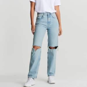 Säljer mina fina jeans från Gina då jag tröttnat på dem. Kan skicka egna bilder vid intresse