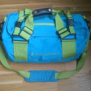 Träningsbag i blått/grönt