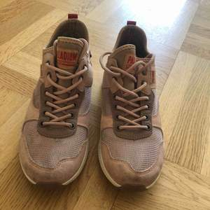 Säljer ett par rosa ARMY RUNNER palladium skor som tyvärr inte har kommit till så mycket användning.ny pris 1099 mitt pris 200 Kan mötas upp i Göteborg eller frakta