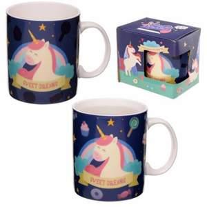 Jätte söt unicorn mugg. Följ gärna min sida zandras fyndbutik på Facebook