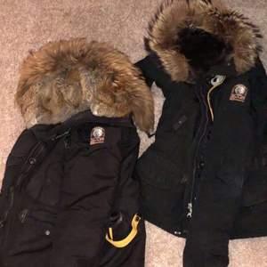 Hej jag har två dam jackor dom är använda bara en termin så jag vill sälja dom och köpa nya jackor den till höger är XS o den till vänster är Small