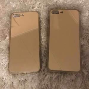 iPhone 7/8+ skal Köpte från glitter, silikon skal 20 kr/st