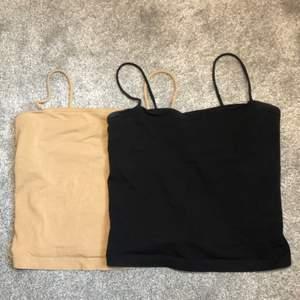 Säljer mina linnen från Gina tricot i pack. Storlek small. Superfina till sommaren.